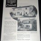 Original 1936 Portland Cement Association Concrete Chicago IL 1930s Print Ad Publicite Advert