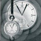 Vintage 1940 Moeris Watch Company Swiss Print Ad Publicite Suisse Montres Moeris Grand Prix