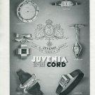 Vintage 1940 Juvenia La Chaux-de-Fonds Switzerland Swiss Print Ad Publicite Suisse Montres Suiza