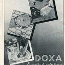 Vintage 1940 Montres Doxa SA Le Locle Suisse Publicite Switzerland Swiss Print Ad Suiza Schweiz
