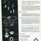 Vintage 1946 Incabloc 1000 Times Stronger Swiss Print Ad Publicite Suisse Horlogerie Horology