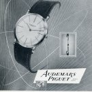 Vintage 1956 Audemars Piguet Watch Co Switzerland 1950s Swiss Print Ad Publicite Suisse Montres