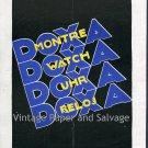 Vintage 1931 Montres Doxa Watch Co Original 1930s Swiss Print Ad Publicite Suisse Schweiz