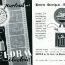 1945 Schild & Co SA La Chaux-de-Fonds Switzerland Swiss Advert Publicite Suisse Reform Electric