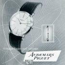 Vintage 1952 Audemars Piguet Watch Company Switzerland Swiss Print Ad Publicite Suisse Montres