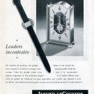Vintage 1952 Jaeger-LeCoultre Leaders Incontestes Original Swiss Advert Publicite Suisse Montres