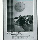 Vintage 1945 Kienzle Clock Company Switzerland 1940s Swiss Print Ad Publicite Suisse Schweiz