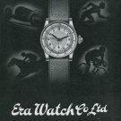 1939 Era Watch Company C Ruefli-Flury & Co Bienne Switzerland Swiss Advert Publicite Suisse Montres