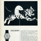 1959 A. Huguenin Fils SA Huguenin Watch Company Switzerland Swiss Advert Publicite Suisse Montres