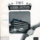 1942 Vacheron Constantin Watch Company Vintage Swiss Advert Publicite Suisse Montres