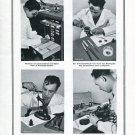 Vintage 1945 Bergeon & Cie Le Locle CH Suisse Publicite Swiss Print Ad Switzerland Schweiz