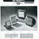Vintage 1945 Reveils Swiza et Switana CH Clock Co Swiss Print Ad Advert Publicite Suisse Schweiz