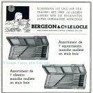 1945 Bergeon & Cie CH Le Locle Switzerland Swiss Advert Ad Publicite Suisse Schweiz