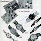Vintage 1945 Pierce CH Watch Company Original 1940s Swiss Advert Publicite Suisse Montres
