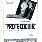 Vintage 1942 Protexocuir Reymond Technique Horlogerie Geneve Swiss Advert Publicite Suisse CH
