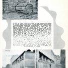 1942 Tony Vaurillon S.A. Switzerland Fabrique de Verres de Montres Swiss Ad Publicite Suisse CH
