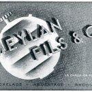 Vintage 1942 Meylan Fils & Co CH Switzerland Swiss Advert Publicite Suisse Horlogerie Schweiz