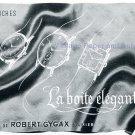 Vintage 1942 Robert Gygax CH Switzerland La Boite Elegante Swiss Advert Publicite Suisse Horlogerie