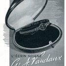 1942 G & A Vaudaux Geneve CH Swiss Advert Suisse Publicite Horlogerie Switzerland 1940s