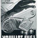 Vintage 1942 Vouillot Fils SA CH Bienne Switzerland Swiss Advert Publicite Suisse Horlogerie