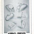 Vintage 1942 Georges Croisier CH Genève Lacreuze & Cie Swiss Advert Publicite Suisse Schweiz