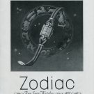 Vintage 1948 Zodiac Watch Co As Punctual As a Star Swiss Advert Publicite Suisse CH