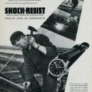 Vintage 1946 Shock-Resist Erismann-Schinz SA Switzerland Swiss Advert Publicite Suisse CH Horlogerie