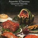 Amaretto di Saronno Gourmet Secrets Recipes Duckling Pork Desserts Cake Mousse