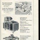Vintage 1947 Frebal AG Basel Swiss Print Ad Suisse Publicite Schweiz Switzerland Suiza CH 1940s