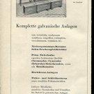 1947 LPW Galvano Technik Langbein Pfanhauser Werke AG Swiss Ad Publicite Schweiz Switzerland CH