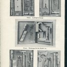 1947 Presca Werkzeuge Ernest F Benz Swiss Print Ad Suisse Publicite Schweiz Switzerland CH 1940s