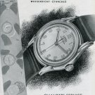 Vintage 1946 Roamer Watch Co Switzerland Swiss Advert Publicite Suisse Montres CH