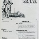 1946 Zenith Watch Co Neuchatel Observatory Swiss Advert Publicite Suisse Montres CH Switzerland
