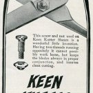 Vintage 1905 E C Simmons Hardware Keen Kutter Shears Scissors Print Ad Publicite Advert