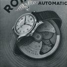 1947 Rotary Watch Co Fils Moise Dreyfuss Switzerland Swiss Advert Publicite Suisse Montres CH