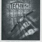 1947 Technos Watch Company Gunzinger Freres SA Switzerland Swiss Advert Publicite Suisse CH