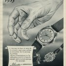1953 Atlantic Watch Company & Aristex Ed Kummer SA 65th Anniversary Swiss Advert Publicite Suisse