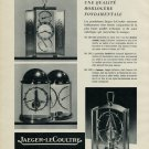 Vintage 1953 Jaeger-LeCoultre Clock Co Switzerland Swiss Advert Publicite Suisse CH