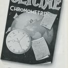 Vintage 1948 Glycine Watch Co Switzerland Swiss Advert Publicite Suisse Montres Glycine CH