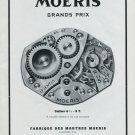 Vintage 1948 Moeris Watch Co F. Moeri SA Swiss Advert Publicite Suisse Montres Moeris CH