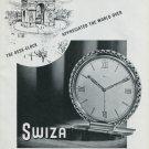 1948 Swiza Clock Co Louis Schwab SA Switzerland Swiss Advert Publicite Suisse Montres CH