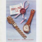 Vintage 1948 Jenco Watch Co Jenny & Frey SA Switzerland Swiss Advert Publicite Suisse CH