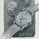 Vintage 1948 Revue Watch Co Thommen SA Switzerland Swiss Advert Publicite Suisse Montres CH