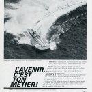 1969 Ebauches SA Neuchatel Switzerland Swiss Advert Print Ad Josef Ulrich