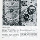 1969 Societe des Fabriques de Spiraux Reunies L'Isochronisme Swiss Advert Suisse