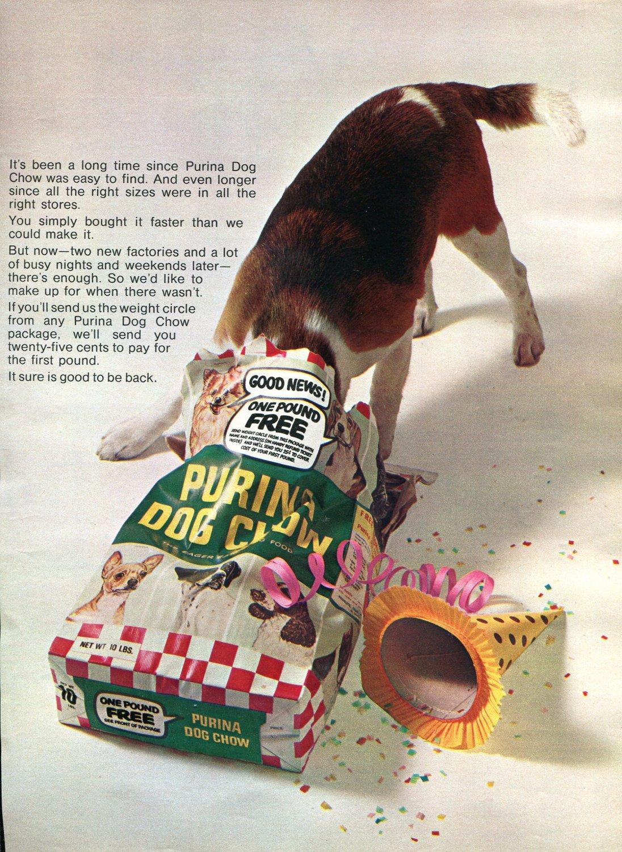 Purina Dog Food Advert