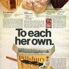 1970 Pillsbury Create a Cake Mix Ad Advert Lemon Whippersnaps Saucy Apple Swirl