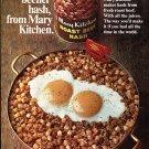 1970 Mary Kitchen Roast Beef Hash Hormel Roast Beefier 1970 Ad Advert