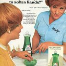1970 Madge Palmolive Dishwashing Liquid Colgate Palmolive Company Ad Advert