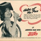 1943 WWII WW2 Pepsi Cola Helps Set the Pace on the Work Front Advert